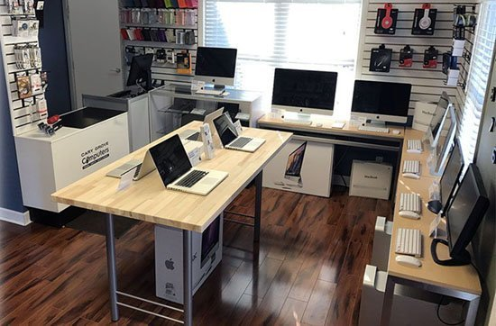 Come visit Cary Grove Computers showroom